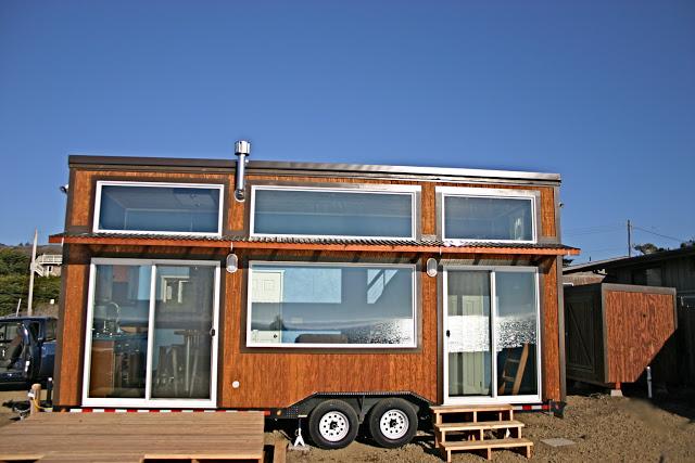 Passive solar tiny house
