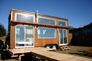 Molecule tiny homes surf shack