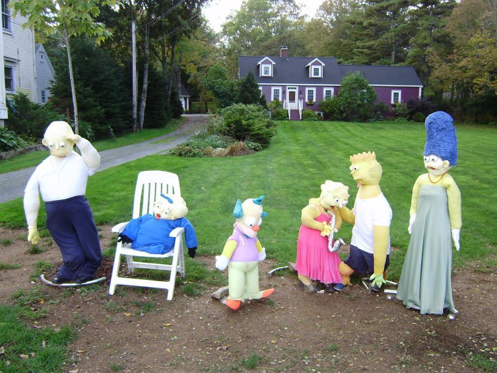 Scarecrow Simpsons