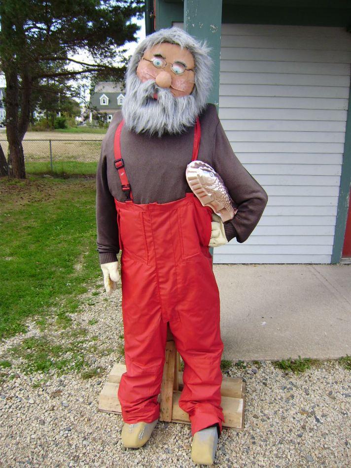 scarecrow fisherman