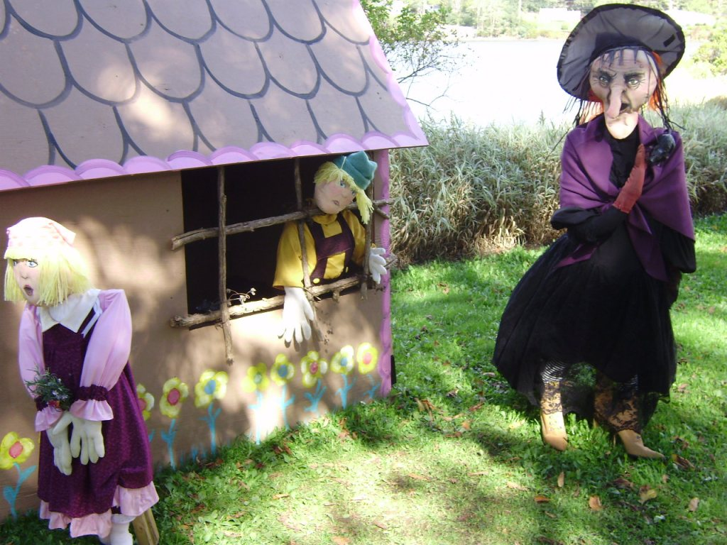 The witch of Hansel and gretel