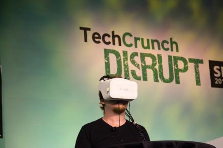FOVE Virtual Reality headset
