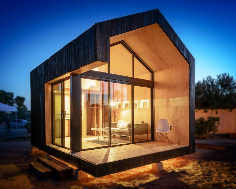 Cinder Box tiny house