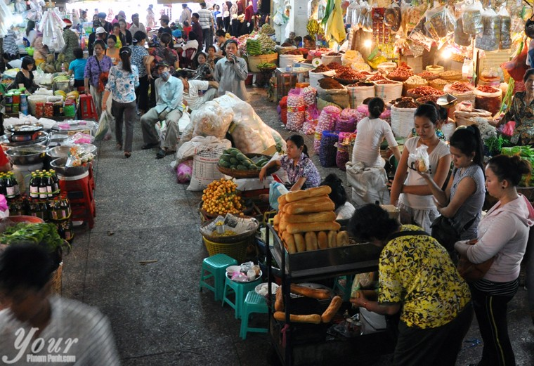 Market-in-Phnom-Penh-Cambodia