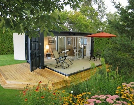 off grid shipping container house