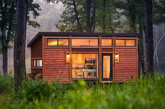 custom built tiny house