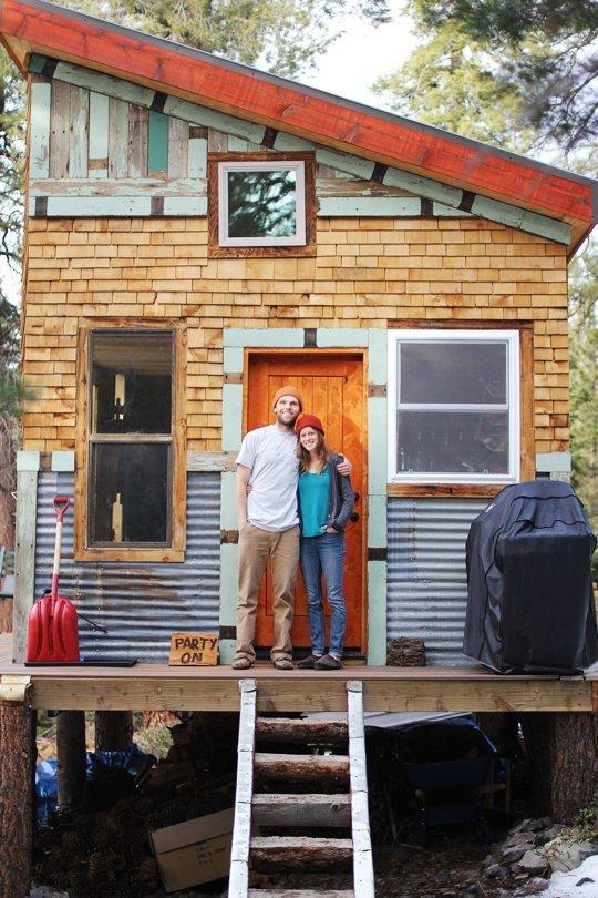 DIY off grid Micro Cabin
