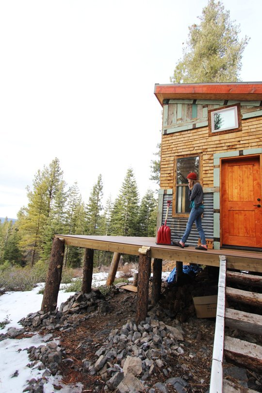 Diy self sustainable micro cabin change the code for Small diy cabins