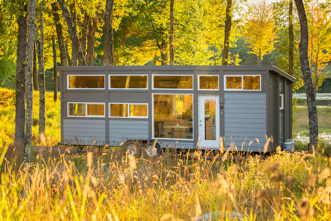 Escape Traveler XL Tiny House With Full-Size Appliances