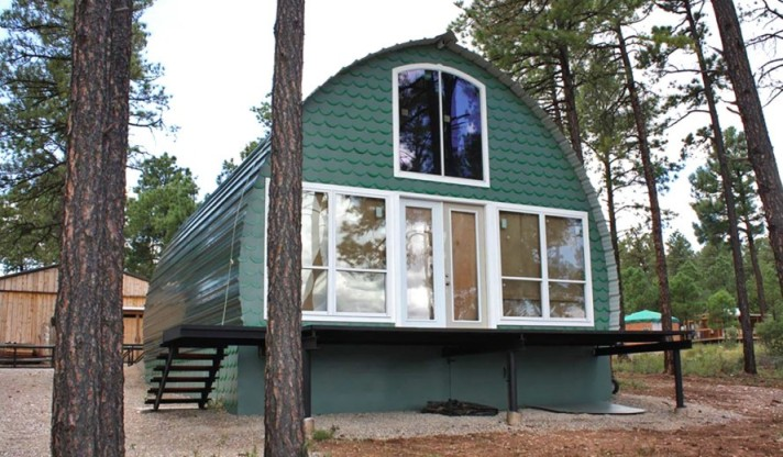 Prefabricated-Arched-Cabins