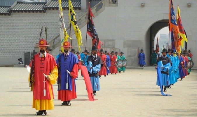 south korea travel