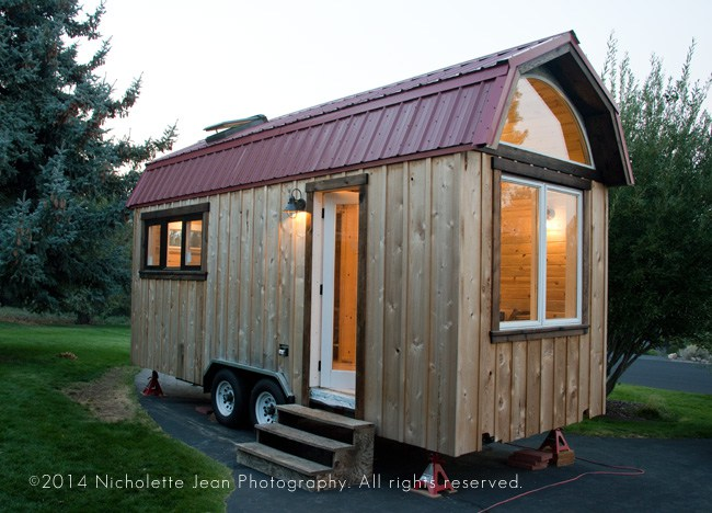 A Beautiful Rustic Tiny House Wait Until You See The