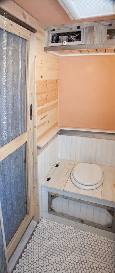 tiny house composting toilet