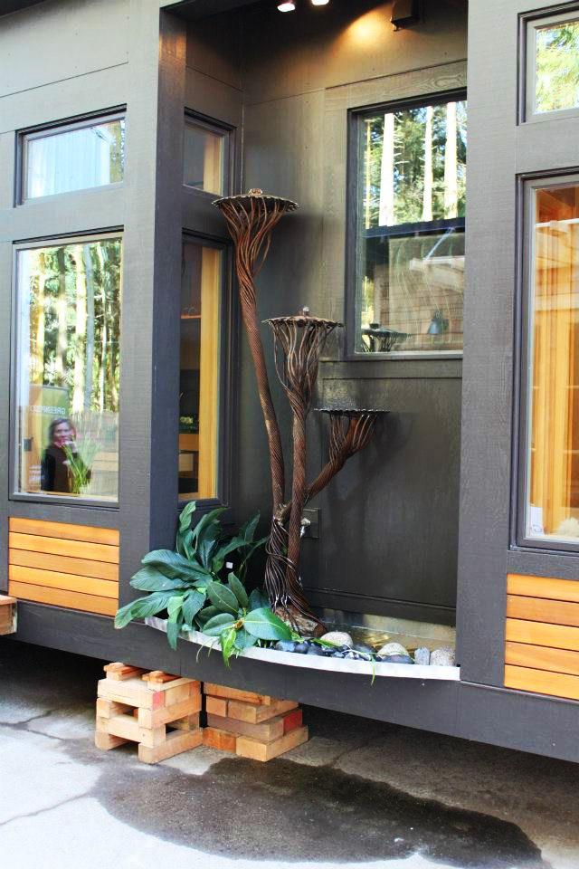 waterhaus tiny house on wheels