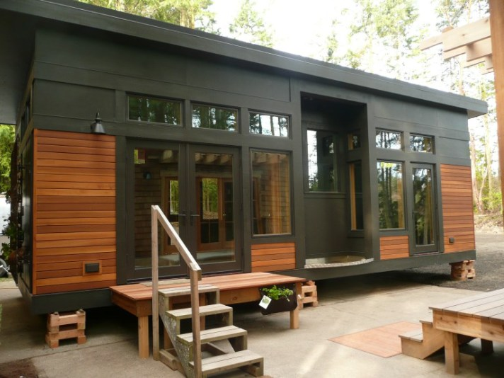 waterhaus prefab tiny house