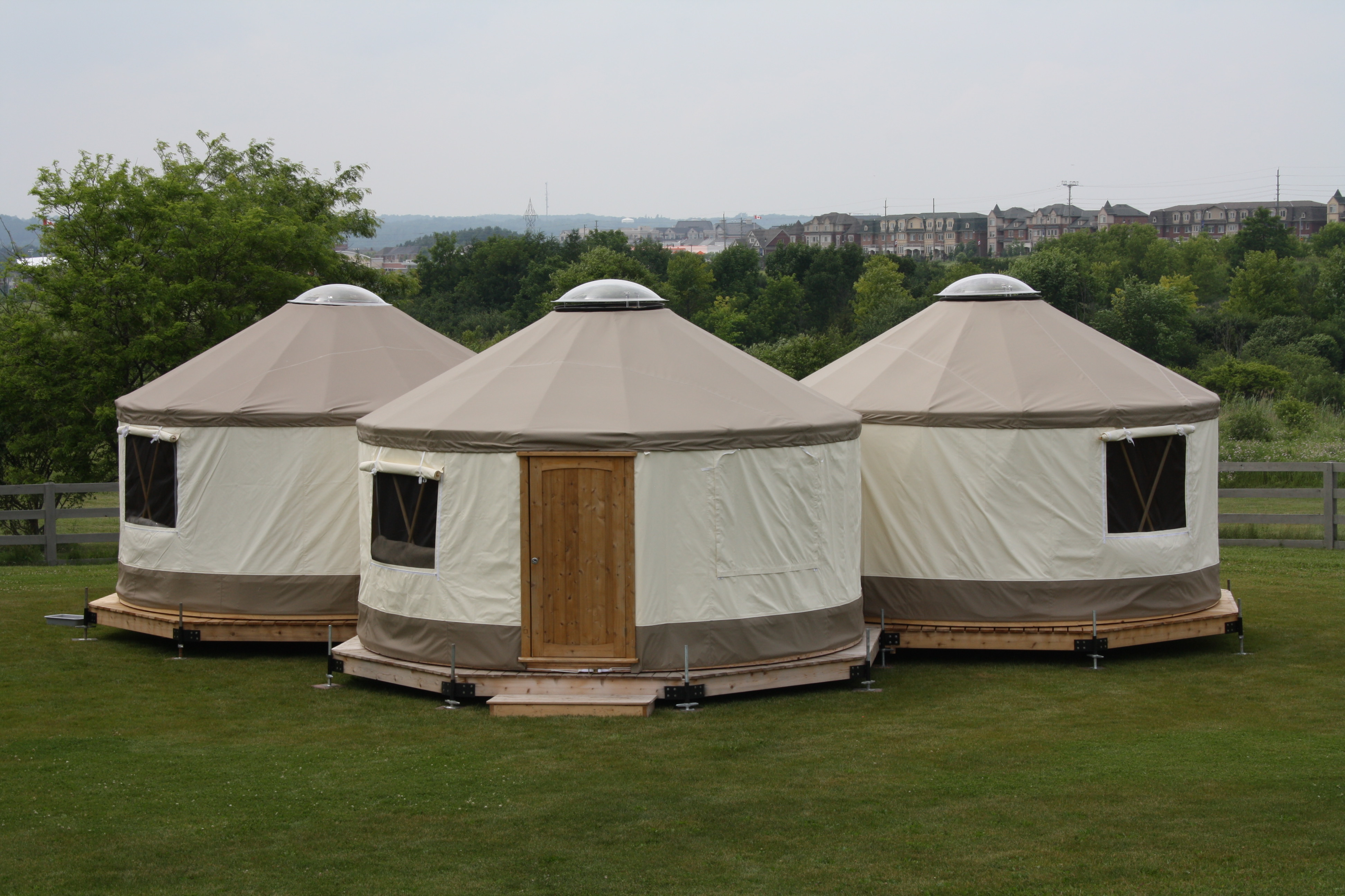 A diy 133 square foot yurt starting at 8750 change the code for Canadian kit homes