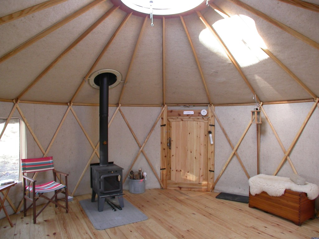 A DIY 133 Square Foot Yurt Starting At $8750 – Change The Code