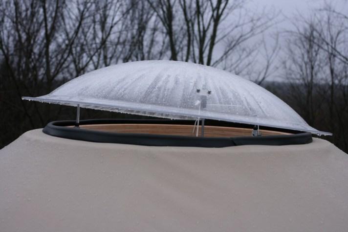 yurt roof dome