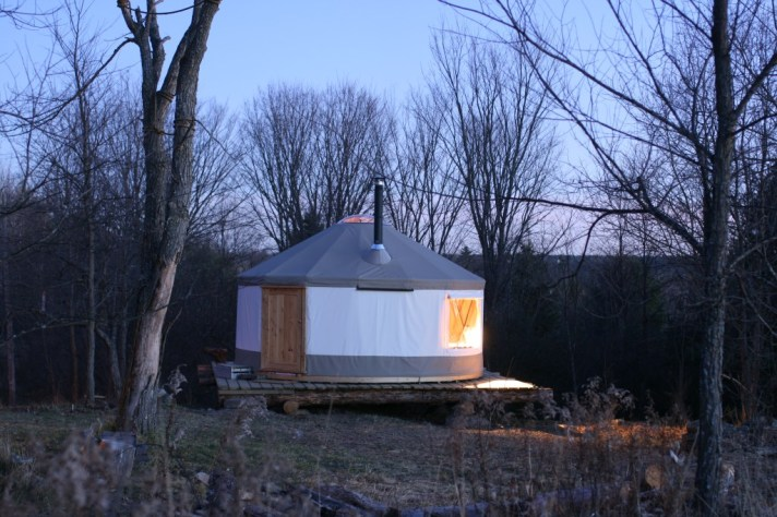 What is a yurt