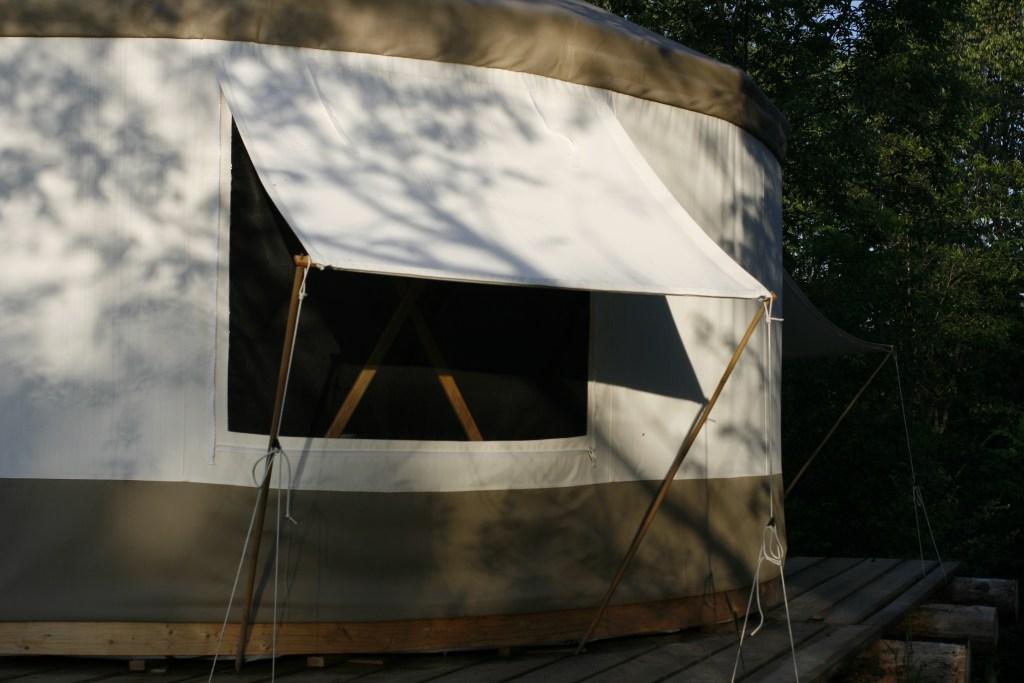 yurt window