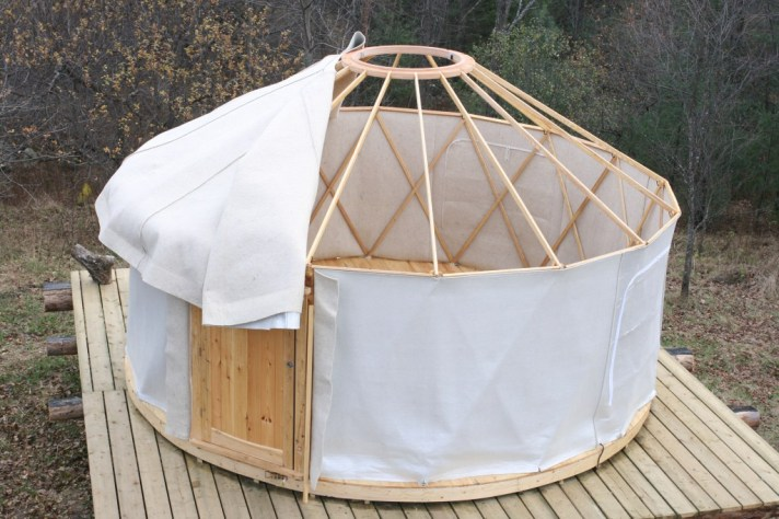 yurt contruction
