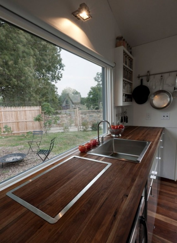 Minim tiny house Kitchen