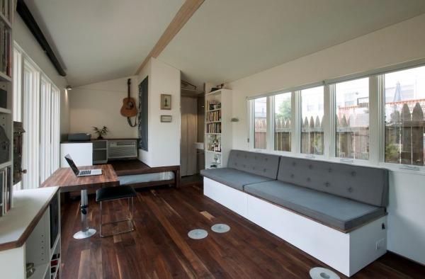 Minim tiny house beautiful living area