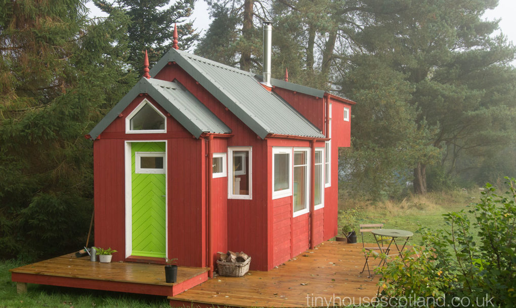 Beautiful tiny house is passive and energy efficient for Energy efficient tiny homes