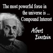 einstein compound interest quote
