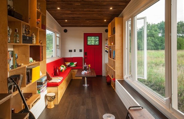 Greenmoxie Tiny House living area