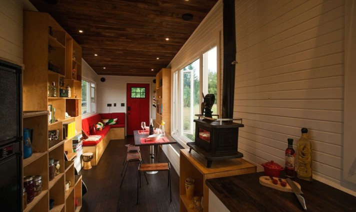 Greenmoxie tiny house living space