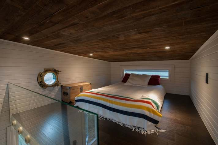 Greenmoxie tiny house loft
