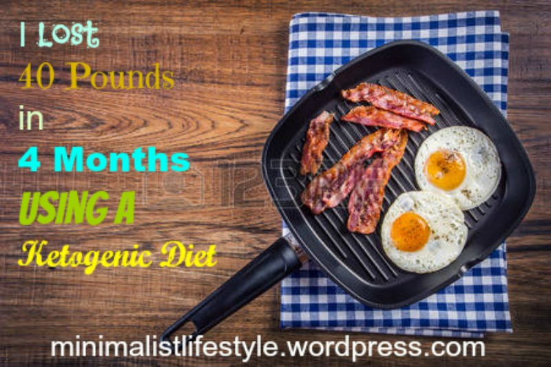 Lost 40 pounds in 4 months ketogenic diet