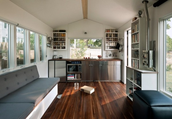 Minim Tiny House on wheels interior