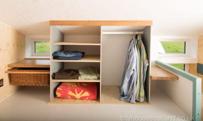 Minimalist Tiny House with Storage