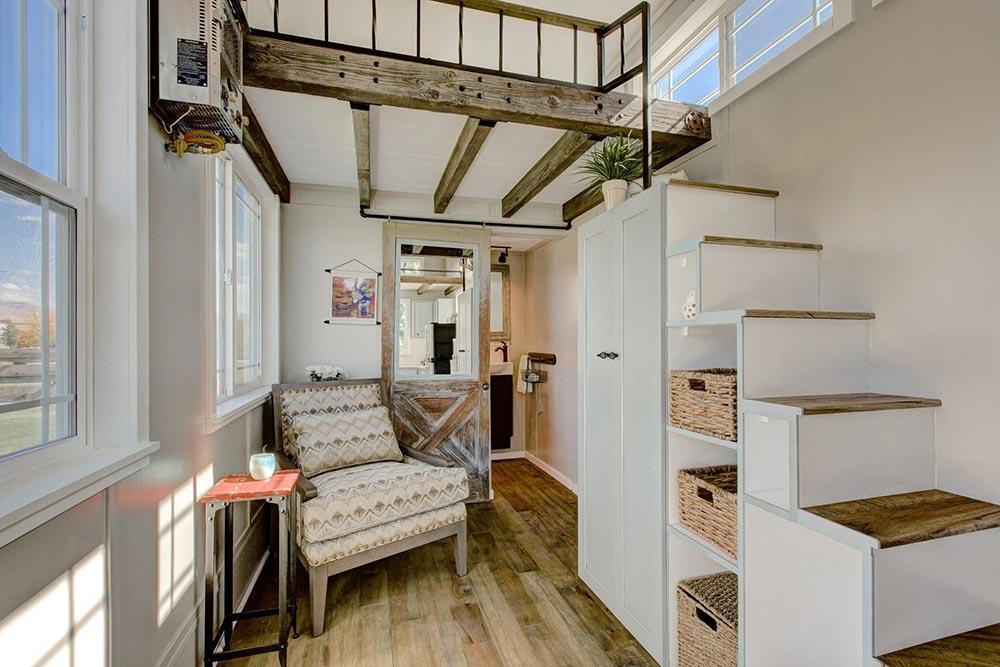 Huckleberry Tiny House living room