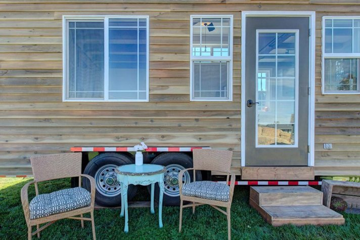 Huckleberry Tiny House exterior