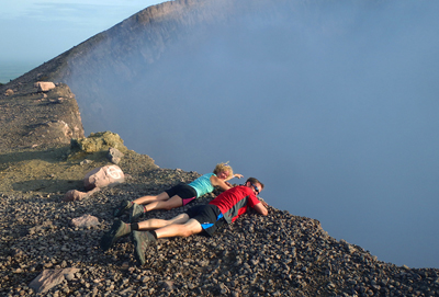 Hiking active volcanoes Nicaragua