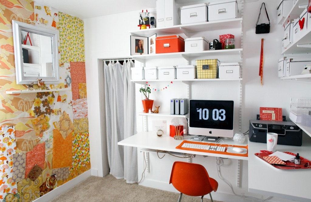 organized home office DIY