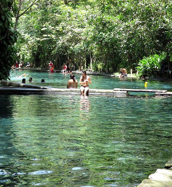 Ojo de Agua in Ometepe Nicaragua