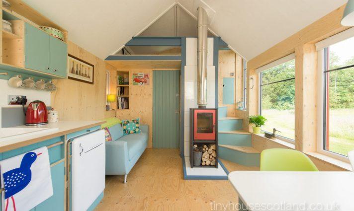 open feeling tiny house