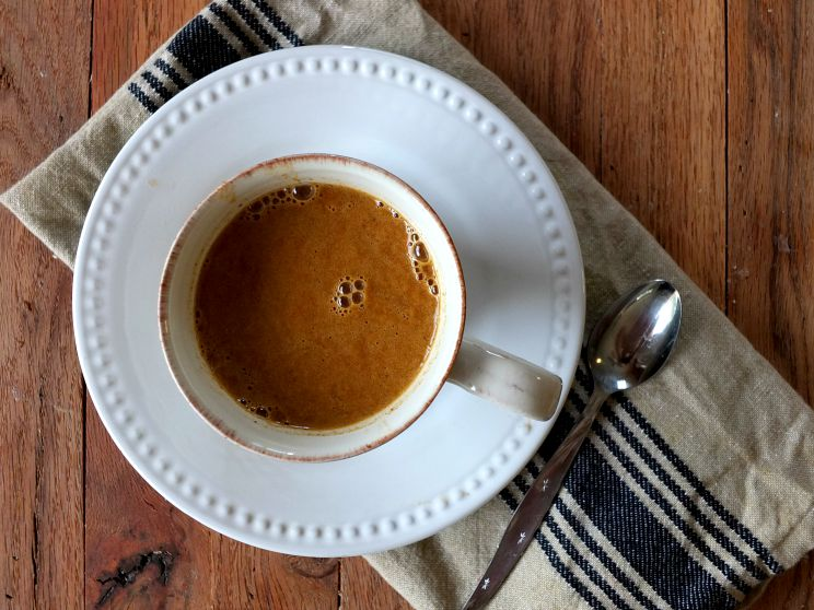 paleo friendly pumpkin spice latte