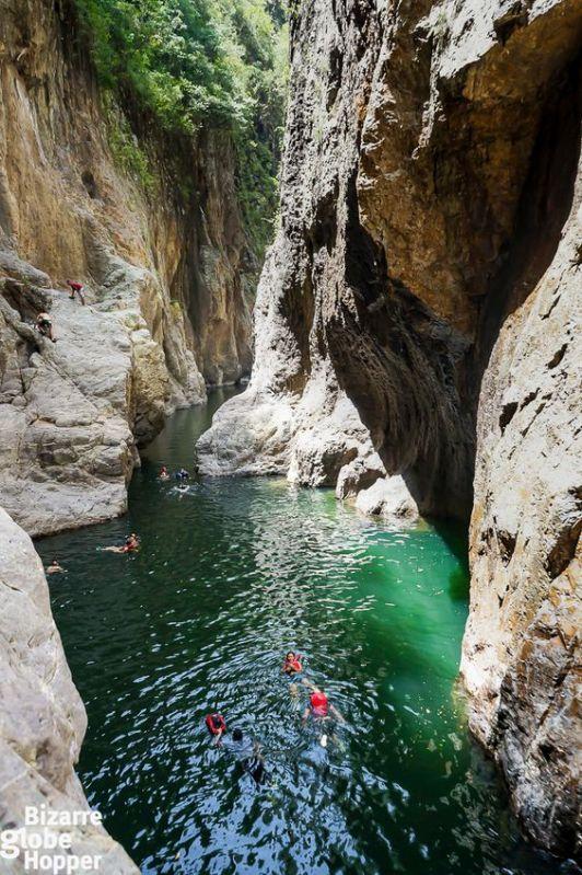 Somoto Canyon swimming Nicaragua