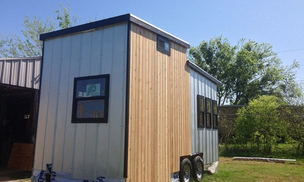 off grid solar tiny house