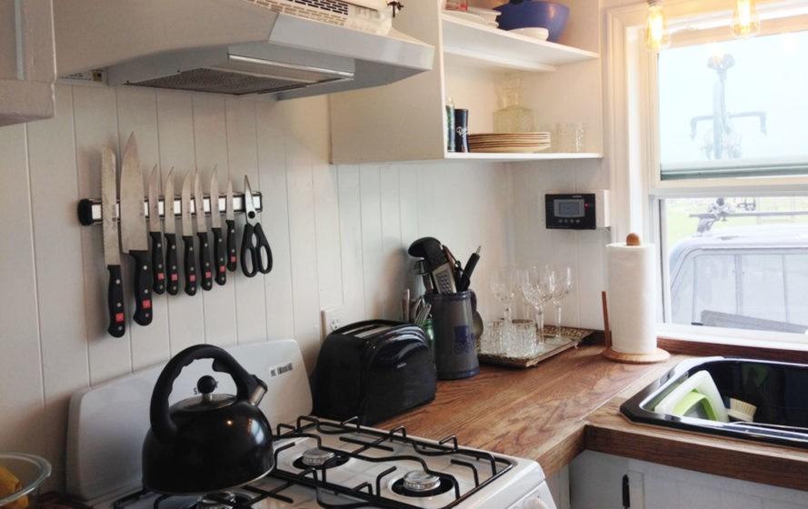 tiny house kitchen photo