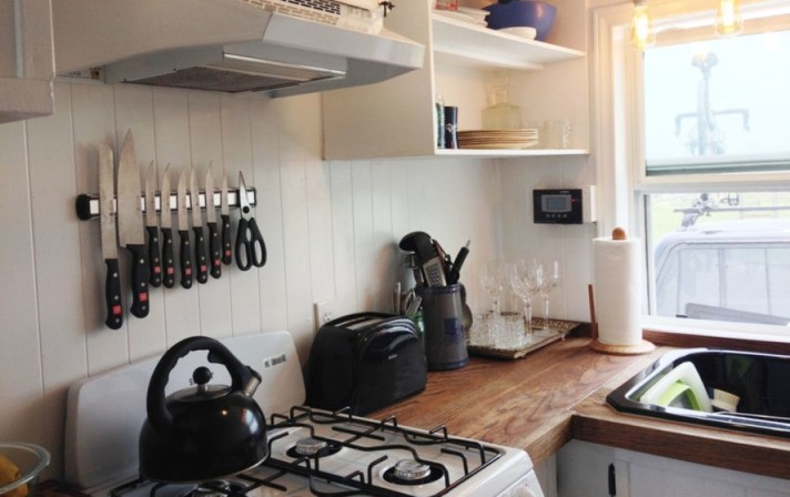 tiny house kitchen photo