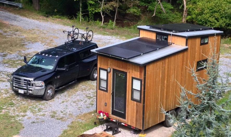 off grid tiny solar house