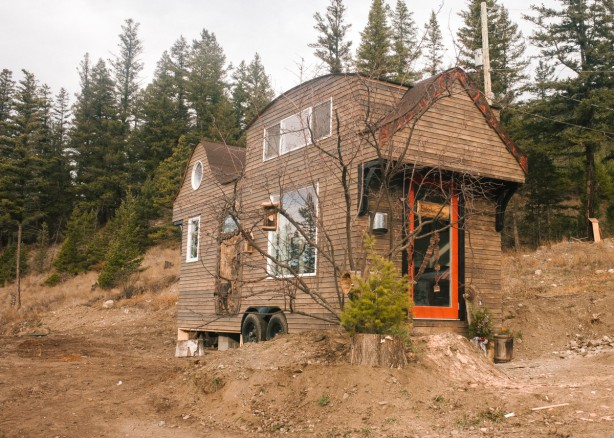 Why live in a tiny house Esket tiny house