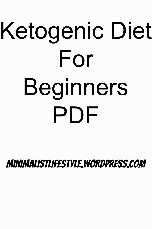 Keto Diet Plan for Beginners PDF | Simple, Effective ...