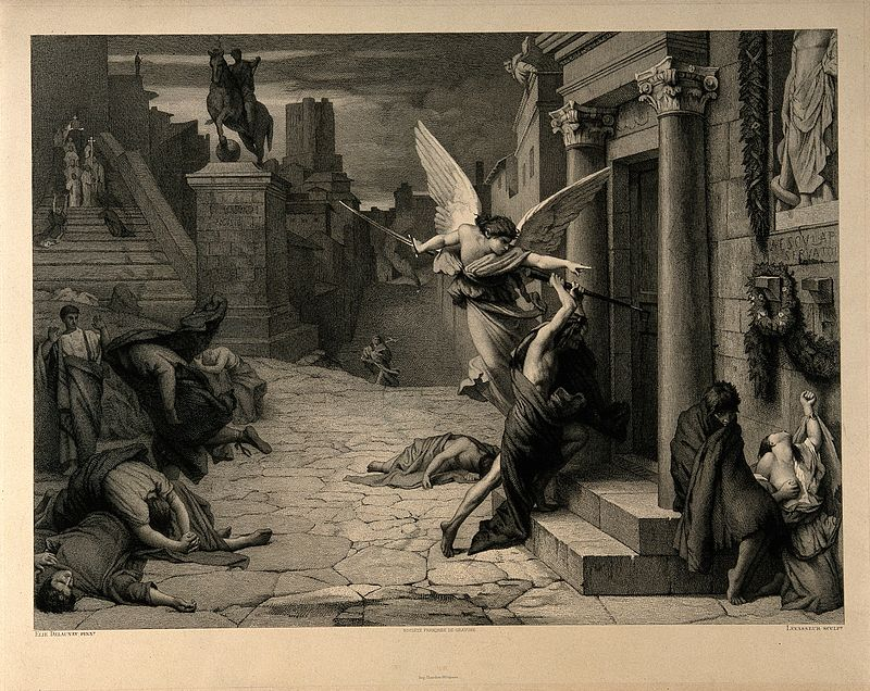 The_angel_of_death_striking_a_door_during_the_plague_of_Rome